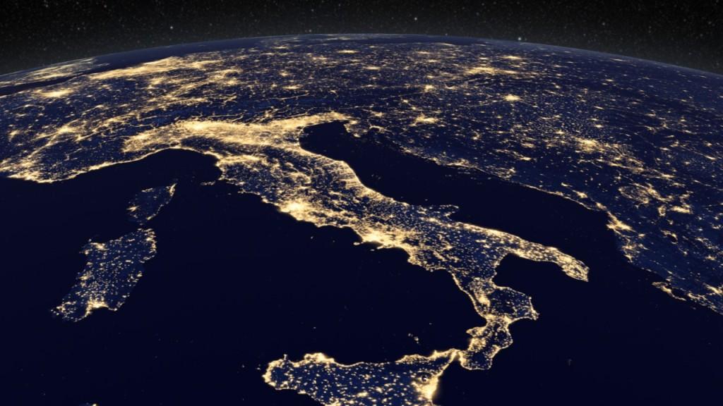 Nodi Energia Italia - Visione Satellitare